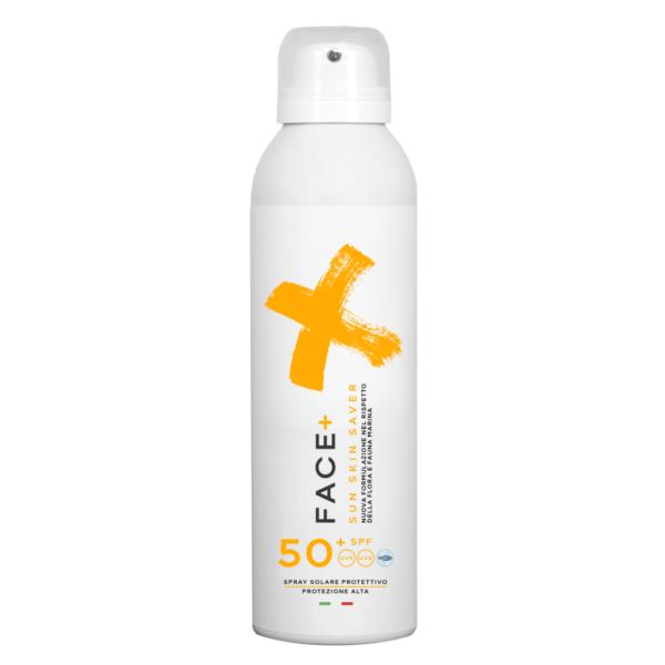 Facepiù Sun skin saver spray solare protettivo 50 spf